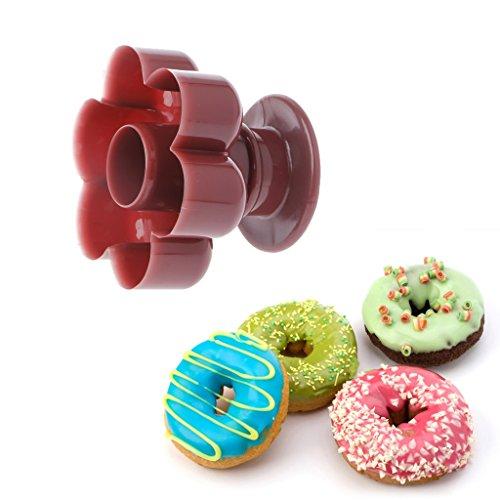 dairyshop 1blumenförmigen Donuts Maker DIY Form Kuchen Desserts Brot Cutter Backen Werkzeug
