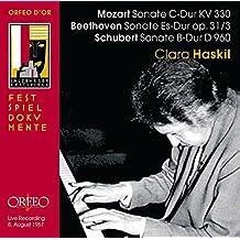 Mozart, Beethoven, Schubert: Piano Sonatas
