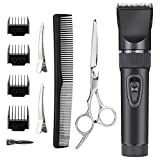 Best Home Hair Clippers - Rantzion Professional Haircut Kit Men and Babies Quiet Review