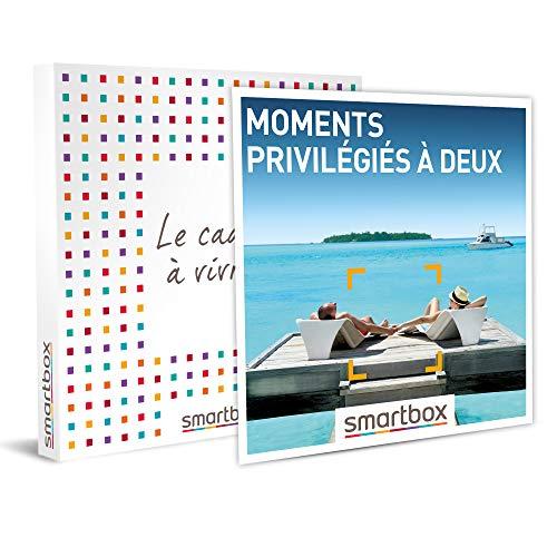 SMARTBOX - Coffret cadeau - Moments privilégiés à deux - idée cadeau - 1 séjour...