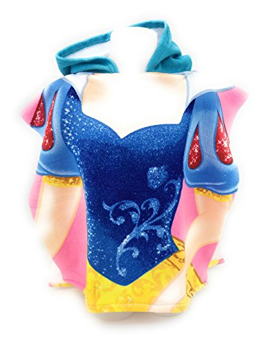 Poncho de bain - Cape de Bain - microfibre 100% Polyester - 110x55 cm - Princesse Blanche neige - Snowwhite - Disney