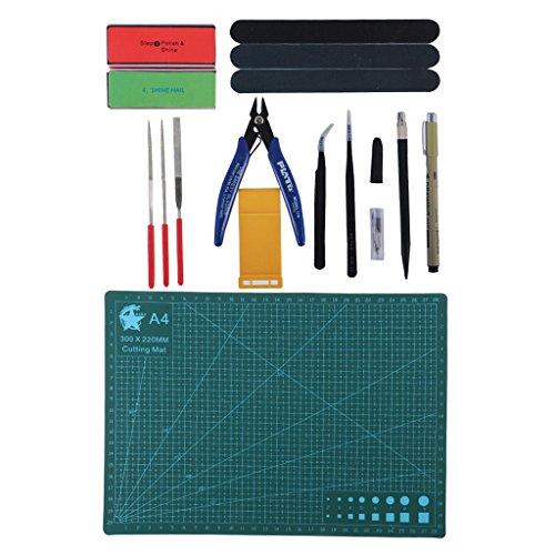 Homyl Profi DIY Modellbau Werkzeug Kit - VT-038