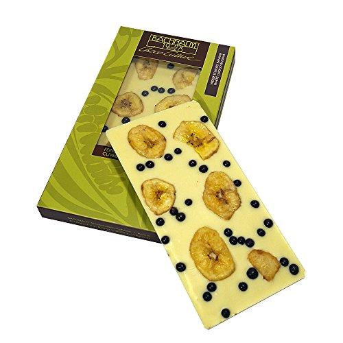 Bachhalm Schoko Banane Weisse Schokolade 80g (Bananen-schokolade-chips)