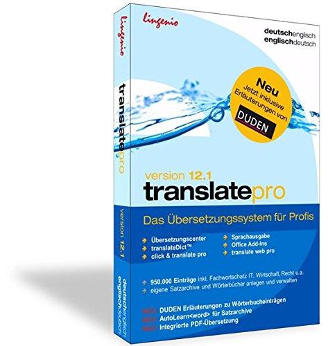 translate pro 12.1 Deutsch-Französisch: Das professionelle Übersetzungssystem