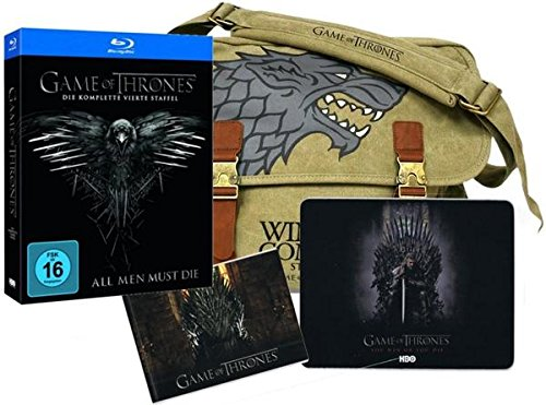Game Of Thrones - Staffel 4 / Limited Edition: Limited Edition (inkl. Messenger Bag, Mauspad, Fotobuch) [Blu-ray] Edition Messenger