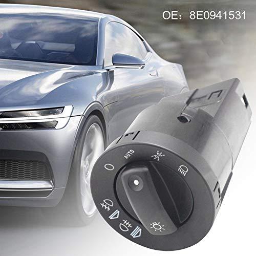 ZqiroLt Schalter für Autoscheinwerfer, Nebelscheinwerfer 8E0941531D für Audi A4 B6 B7 RS4 (Audi S4 Spielzeug Auto)
