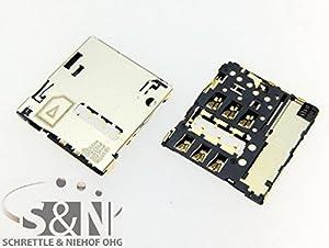 NG-Mobile HTC Desire 300 Sim Slot Kartenleser Kontakte Simleser Schacht Kartenleser Einschub Pins Pin