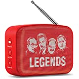 Saregama Carvaan Mini Telugu Bluetooth Speaker (Sunset Red)