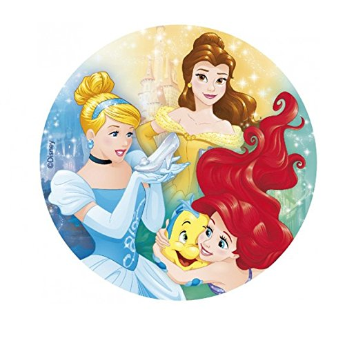 Generique - Disney -Prinzessinnen Tortenoblate Lizenzware 20cm