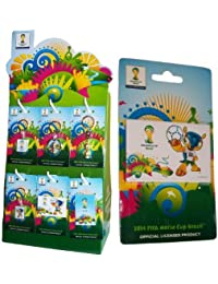 1 Magnet Coupe du Monde de Football 2014 au Br?sil - Collection officielle FIFA