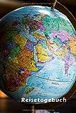 Reisetagebuch: Notizbuch für Neugierige, Weltreisen, Urlaub ** 120 Seiten ** kariert