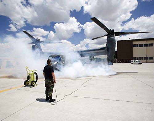 Os Cv Engine (HIGH-G Productions/Stocktrek Images – A CV-22 Osprey starts its engines at Kirtland Air Force Base. Photo Print (79,76 x 62,48 cm))