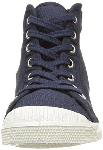 Bensimon Tennis Mid, Baskets Hautes femme Bleu (516 Marine)