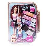 #10: FlySky Winni Magic Hair Doll Set With 3 Colors