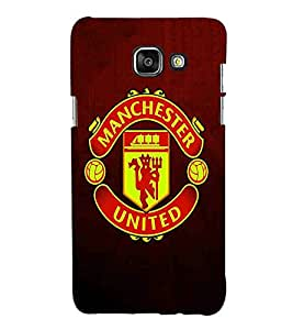 Football, Black, Game Pattern, Printed Designer Back Case Cover for Samsung On5 (2016) New Edition For 2017 :: Samsung Galaxy On 5 (2017)