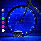 Best Bike Lights - Super Cool Bike Wheel Lights (1 Tyre, Blue) Review
