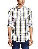 Arrow Sports Men's Casual Shirt (8907259275956_ASQS3081_40_Light Yellow)