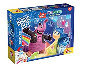 Lisciani Giochi 55326 Crazy Petals - Puzzle DF Supermaxi 108 Inside out Bing Bong