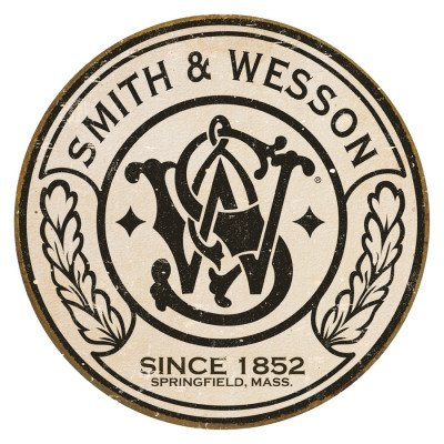 smith-wesson-since-1852-metal-sign-de-round
