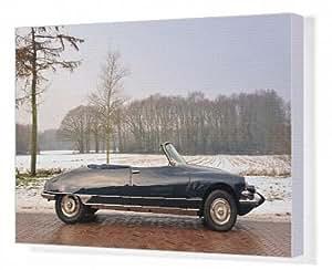 Toile de Citroën DS Decapotable 1962 21 Noir