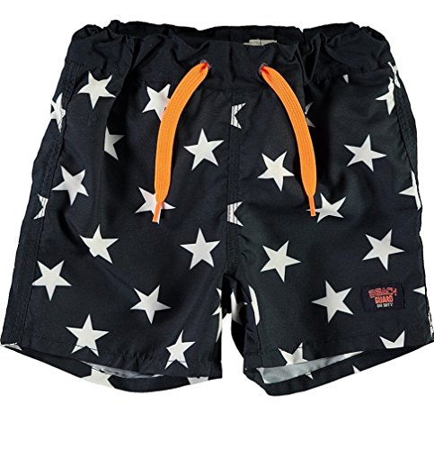 NAME IT Baby-Jungen Badehose Nmmzesper Long Shorts W/O Shield, Mehrfarbig (Dark Sapphire Dark Sapphire), 92