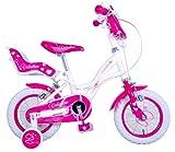 Mediawave Store Bicicletta Bambina Misura 20 Valentina Telaio Acciaio a Sfera età 6-10 Anni