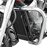 Sturz-Bügel Fehling Honda Shadow VT 750 Spirit 07-13 silber