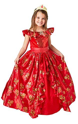Rubie 's Offizielles Elena-von-Avalor-Kostüm, Disney, Ballkleid, Luxusausgabe, für Kleinkinder (Elena Von Avalor Kostüm)