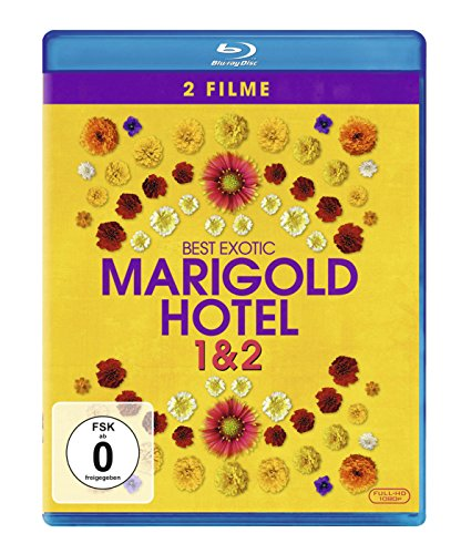 Best Exotic Marigold Hotel 1+2 [Blu-ray]