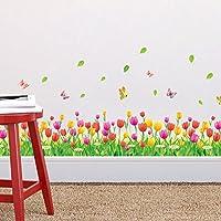 Zooarts Tulip Flores y Mariposas
