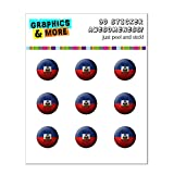 Graphics and More Drapeau d'Haïti de football Soccer Ball Futbol Home Button...