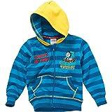 Search : Thomas & Friends Boys Team Thomas Striped Zip Though Hooded Sweatshirt
