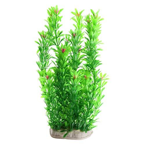 MiKi&Co Grün Plastik Pflanze Aquarium Fischglas Unterwasser Landschaft Dekor 90cm Länge DE