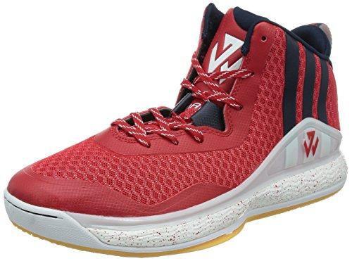 89J3 adidas J Wall 1 Basketball Schuhe John Rot C76583 43 1/3
