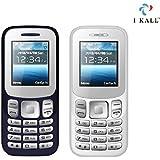 I Kall K16 New 1.8 Inch Mobile Combo (Dark Blue + White)