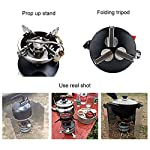 BRS-12A One-Piece Multi-fuel Camp Stoves for Cookout BBQ Camping Fishing Picnic 2-3 Field Operations 11