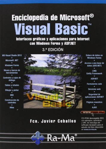 Enciclopedia De Microsoft Visual Basic. Interfaces Gráficas Y Aplicaciones Para Internet Con Windows Forms Y ASP.NET - 3ª Edición