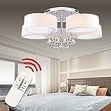 Hengda® LED Deckenlampe Kristall Deckenleuchte Lampe Leuchte Kronleuchter Leuchter Pro