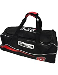 Nd Platinum Cricket Holdall Large Kit Duffle Equipment Carrier Wheelie Kit Bag by ND Sports