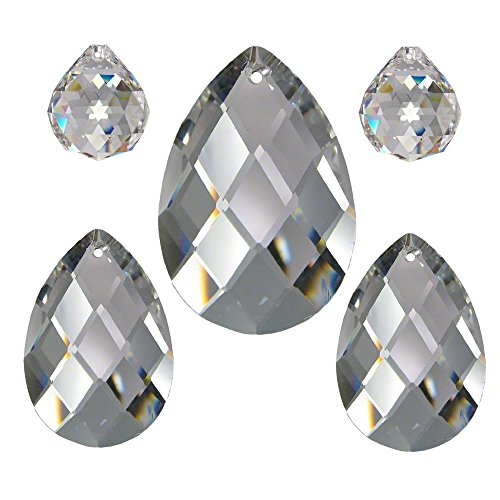 e1240cda577146 Cristallo set 5 pezzi 'Diamante' 20 – 50 mm Crystal 30% PbO ~