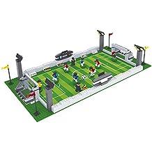 Ausini - Juego de bloques, construcción campo de fútbol, 381 piezas (Colorbaby 40750)