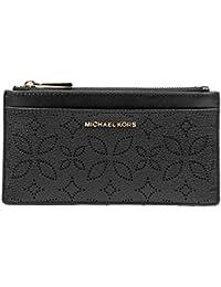 58e5c9054d MICHAEL Michael Kors Porta Carte di Credito in Pelle Martellata Donna MOD.  32H8GF6D7U