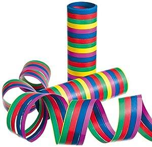 Susy tarjeta 11226149 - serpentinas, rayas, 3 rollos