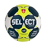 SELECT ULTIMATE REPLICA 2016-2017 BALLON DE HANDBALL BLEU / JAUNE / BLANC (3)