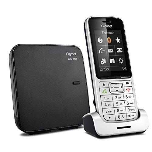 Gigaset SL450 Telefon - Schnurlostelefon / Mobilteil - mit Farbdisplay - Freisprechen - Design Telefon / schnurloses Telefon - platin schwarz - 3