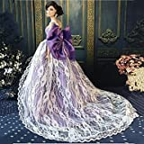 Lace Party Dress for Barbie Doll or similar.