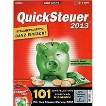 LexWare Quicksteuer 2013 - Für Ihre Steuererklärung 2012 [PC-GO 1/2013 + Original Vollversion auf Heft-DVD]