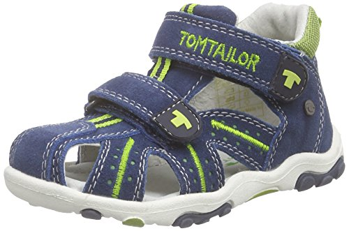 TOM TAILOR Kids Baby Jungen Kinderschuhe Lauflernschuhe Blau (Navy-Lime) 22 EU
