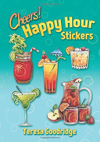 Happy Hour Stickers (Dover Stickers)