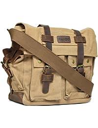 Amado Unisex Shoulder Bag (Khaki) (1046-2_khaki)